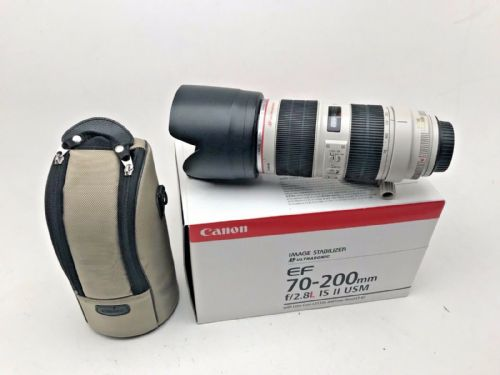 Canon EF 70-200mm L USM IS Mk11 Zoom lens